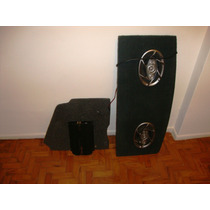Módulo Corzus Pwr1004 - 100x4w Rms + 2 Pioneer 6x9 Ts-a6990r