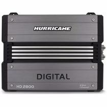 Módulo Hurricane Hd-2800 (2800w Rms) Digital Amplificador