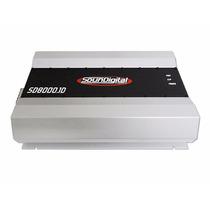 Sound Digital Potencia 8000w 8000 Rms!