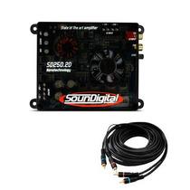 Soundigital Sd250.2d Sd250 Sd250.2 250w Rms 2 Canais