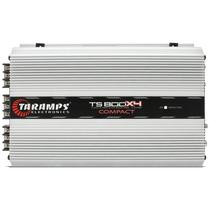 Amplificador Taramps Compact Ts-800 X4 800w Rms Rca