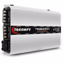 Módulo Amplificador Taramps Ts 800x4 4 Canais Compact 2 Ohms