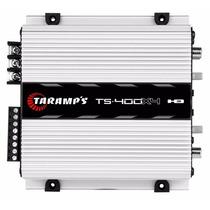 Modulo Taramps Ts400 X4 Digital 400w Rms + Cabo Rca T400
