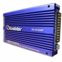 Módulo Amplificador Roadstar Rs-4210amp 840 Watts 4 Channel