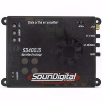 Potencia Automotiva Soundigital Sd400.1 Sd 400 400w Mono