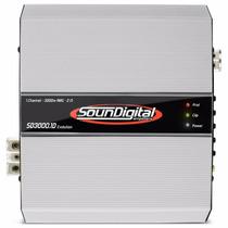 Módulo Amplificador Soundigital 3.000 Rms 2 Ohms