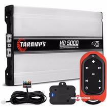 Modulo Taramps Hd5000 De Potencia + Controle Taramps Tlc3000