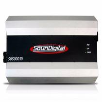 Módulo 5000 W 5000 Rms Sound Digital