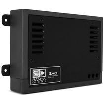 Módulo Banda 2.4d 400w Rms Amplificador Digital 4 Ch 2 Ohms