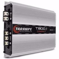 Modulo Taramps T800.1 Compact 1 Canal 800wrms Mono 2 Ohm