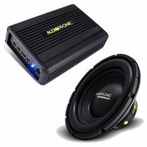 Kit Audiophonic C/ 1 Mód Hp2000 + 1 Sub 10 Pol 400w S1-10s4