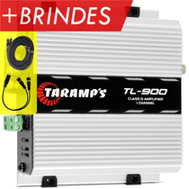 Taramps Tl-900 300 Watts Rms + Cabos Rca Brinde Frete Grátis
