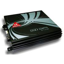 Amplificador Alfa Amps 3 Canais 600w Rms.