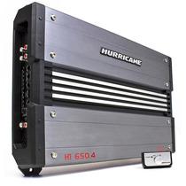 Amplificador Hurricane 650.4 2600wrms Controle Remoto Graves