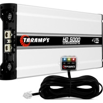 Modulo Taramps Hd 5000 5000w Rms 1 Canal 2 Ohms Amplificador