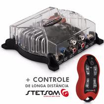 Modulo Stetsom Vs400.4 Digital 400w 4c+controle Sx2 Vermelho