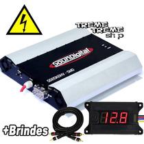 Modulo Amplificador Sd Soundigital 20000 20kd Hv + Brindes
