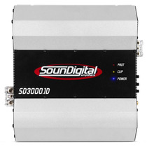 Amplificador Soundigital Sd3000.1d Sd3000 Sd 3000 3k 2 Ohms