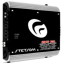 Modulo Stetsom 2k5 Eq 2500w Rms 1 Ohm Mono Amplificador