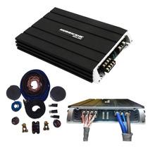 Modulo Hurricane Ha 4.250 1000wrms 4 Canais + Kit Instalação