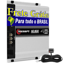 Módulo Amplificador Hd 800 800w Rms Taramps + Frete Grátis
