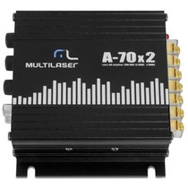 Amplificador A-70x2 70w Potência 2x35w Nota Fiscal -lacrado