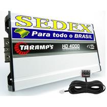 Módulo Taramps Hd 4000 Amplificador Digital 4798w Rms +sedex