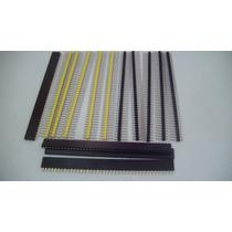 Barra 40 Pinos 4 + 4 + 4 = 12 Pçs Arduino Protoboard