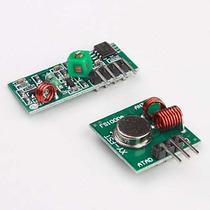 Kit Modulo Rf 433mhz Transmissor Receptor P/ Controle Remoto