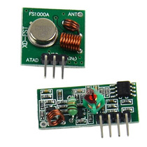 Módulo Rf Transmissor Receptor 433mhz Arduino Pic Avr Radio