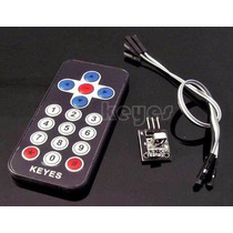 Kit Controle Remoto Infravermelho Arduino Módulo Ir