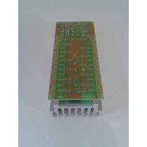 Placa Para Montar Amplificador 1000w 2ohms + Dissipador