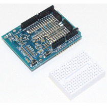 Protoshield + Mini Protoboard - Arduino Proto Shield Placa
