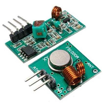 Módulo Rf Transmissor + Receptor 433mhz Am P/ Arduino - Pic