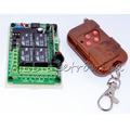 Módulo Relés 4 Canais 12v Com Controle Rf 433mhz/315 - Id919