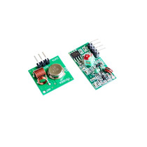 Módulo Rf Transmissor + Receptor 433mhz Am Para Arduino
