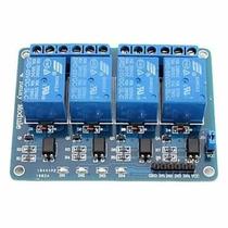 Modulo Rele 5v 4 Canais Arduino Pic