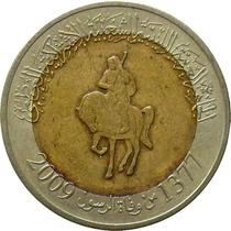Líbia - 1/2 Dinar 2009