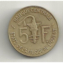 5 Francos 1978 - Estados Africanos Do Oeste