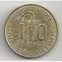 10 Francos 1976 - Estados Africanos Do Oeste