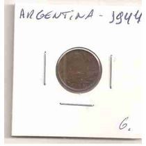 Ml-4619 Moeda Argentina (1 Centavo) 15mm 1944