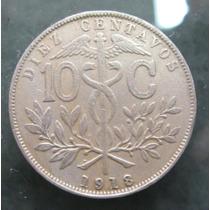 Bolívia: Bela Moeda De 1 Centavos De 1918 Mbc/s - Escassa