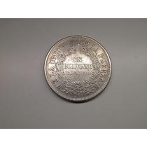 Moeda Bolívia 1 Boliviano 11 Estrelas 1870 Prata