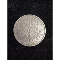 Moéda De Diez Centavos Da Bolivia De 1902 Muito Rara