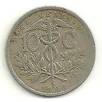 Bolívia - 10 Centavos 1893
