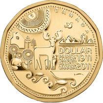 Moeda Comemorativa Do Canadá 2011 1 Dolar Centennial Park Fc