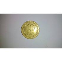 Moeda 10 Pesos Chile 1994!!!