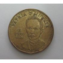 Cuba: Bela Moeda De 1 Peso 1992 Soberba