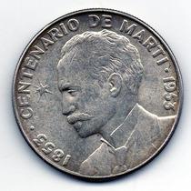 1 Peso De 1953 De Prata 27 Gramas