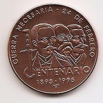Cuba, Moeda De 1 Peso, 1995, Cobre, Fc - Guerra Necessária